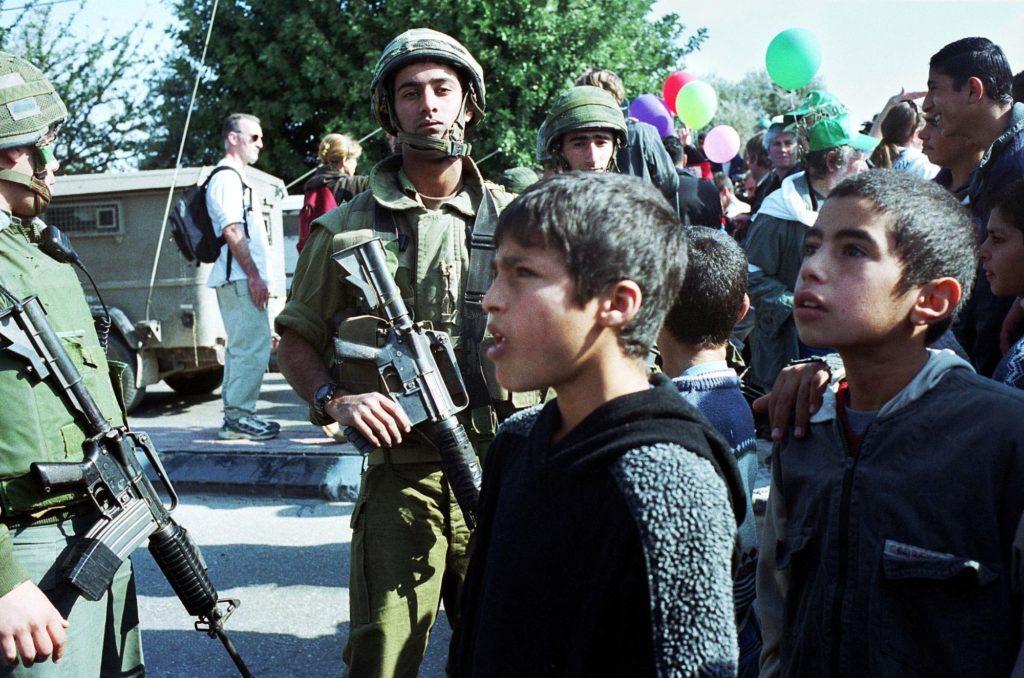 demonstratie bethlehem januari 2002